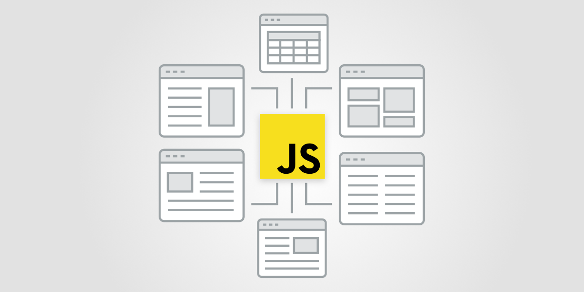 Illustration of various websites relying on JavaScript rendering which can all be understood and monitored by ContentKing now