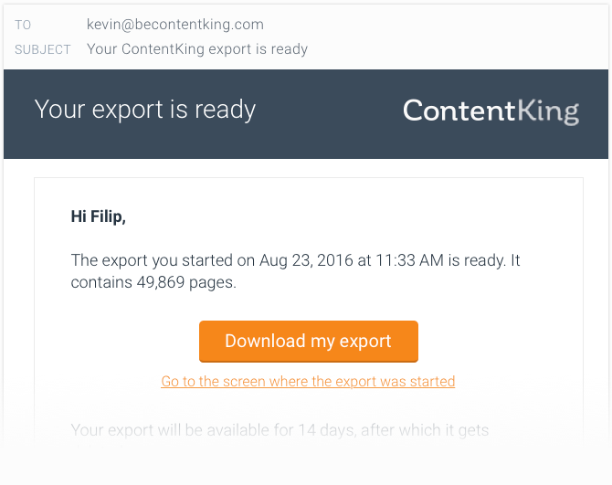contentking-feature-exports-email