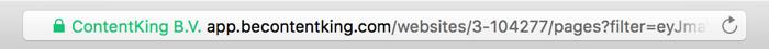 Partage des URL