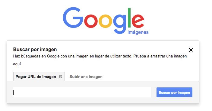Búsqueda inversa por imágenes en Google