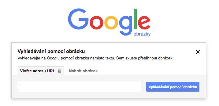 Google - vyhledávání podle obrázku