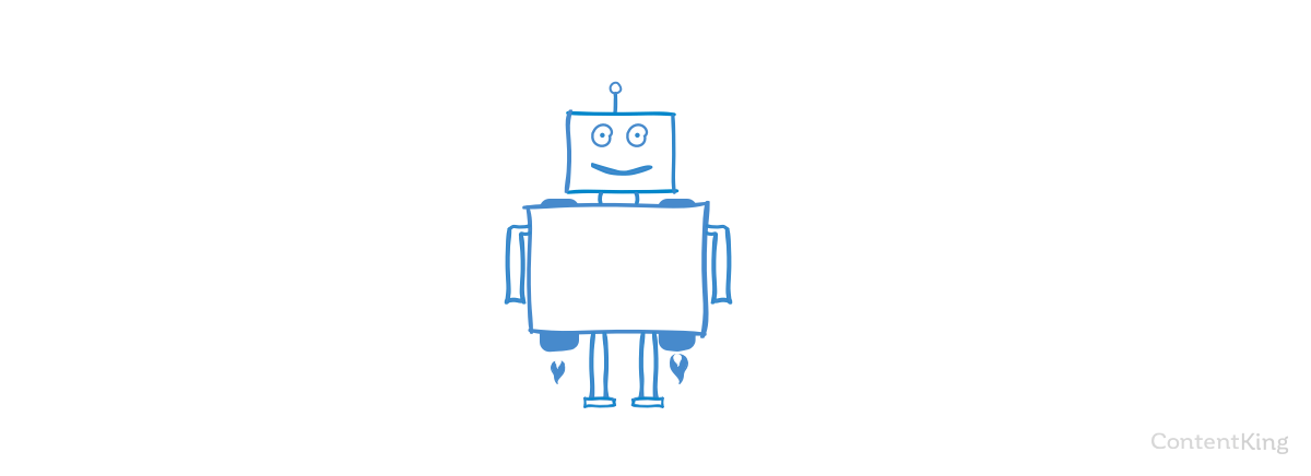 Happy Search Engine Robot